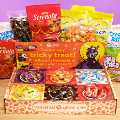 Halloween Box with Candy Bags