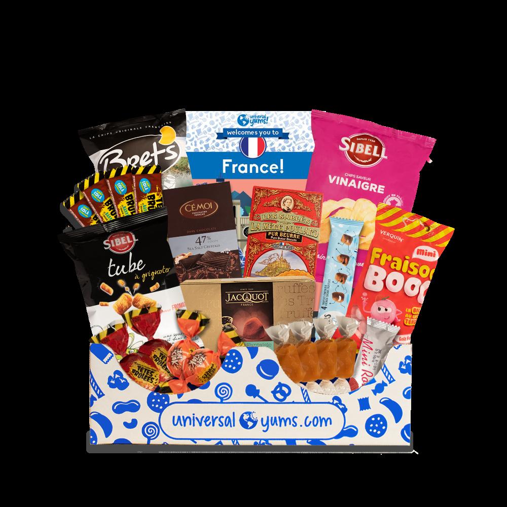 France Yum Yum Box